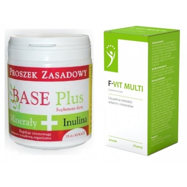Zestaw Base Plus 200 g + F-VIT Multi 39,5 g