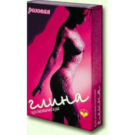 Glinka kosmetyczna różowa 100 g