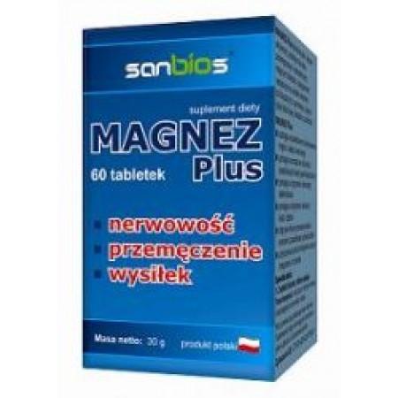 Magnez Plus 60 tab.