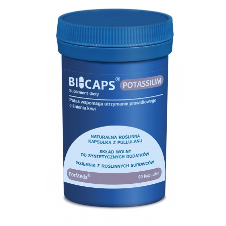 Bicaps Potas 360 mg 60 kaps