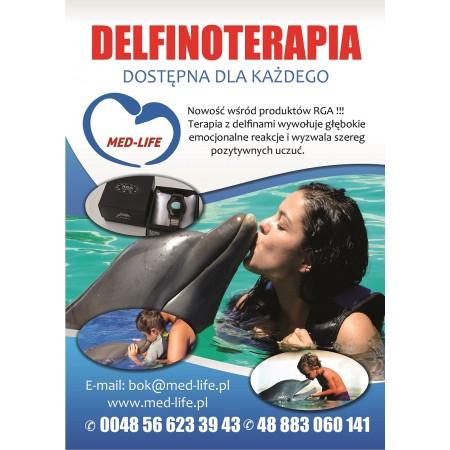 Ulotka Delfinoterapia A6