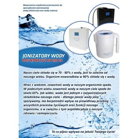 Ulotka Jonizatory wody A6