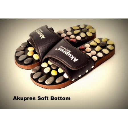 Obuwie zdrowotne Akupres Soft  XL (43/44) czarne