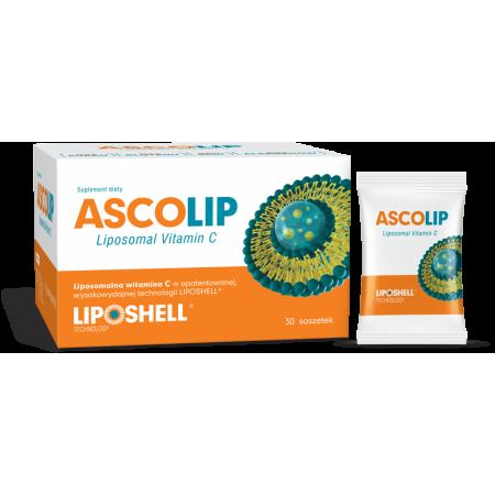 Witamina C LIPOSOMALNA wysoka biodostępność 1000 mg Liposhell 30 saszetek