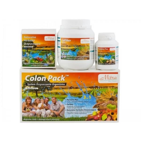 COLON PACK ziołowy system oczyszczania organizmu w SUPER CENIE!!! miesięczna kuracja