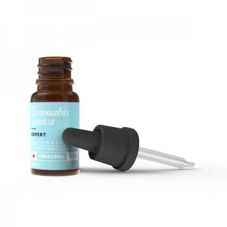 Naturalny olejek CBD/CBDa 2,5% z ekstrakcji CO2 10ml