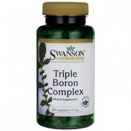 Bor Triple Boron Complex 3mg 250 kaps.
