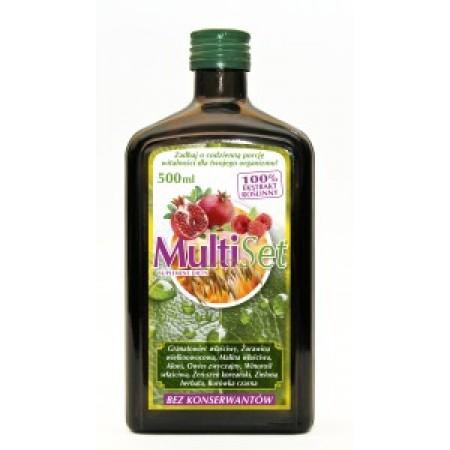 MultiSet 500 ml - kompleks witamin i minerałów