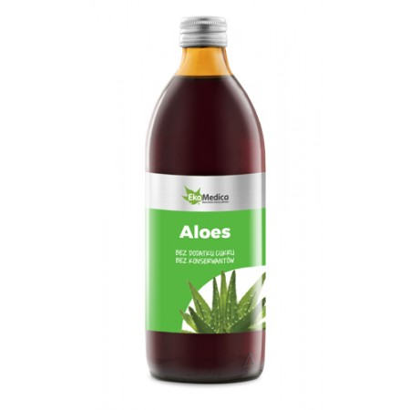 Sok Aloes 500 ml. 100%