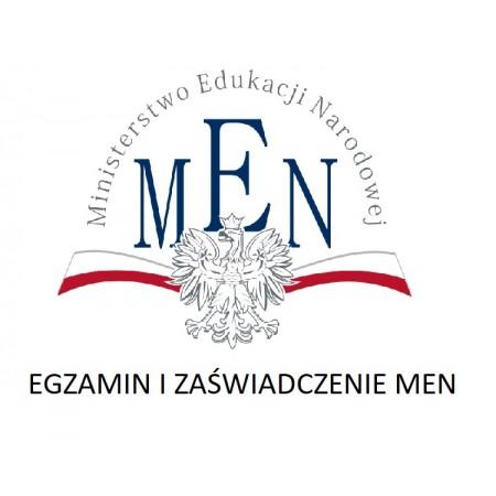 Egzamin i zaświadczenie MEN dot. szkoleń VOLL'A, VEGA-TEST