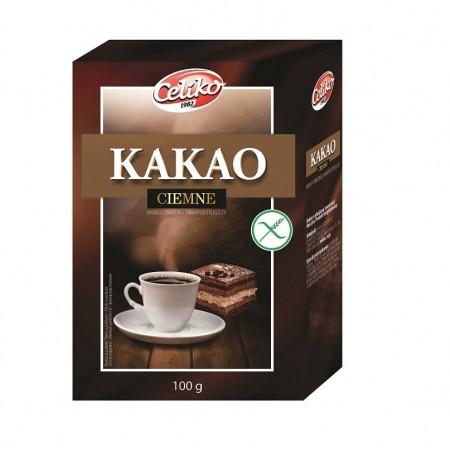 Kakao naturalne ciemne bezglutenowe 100 g