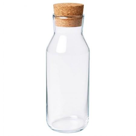 Butelka szklana z korkiem 0,5 l