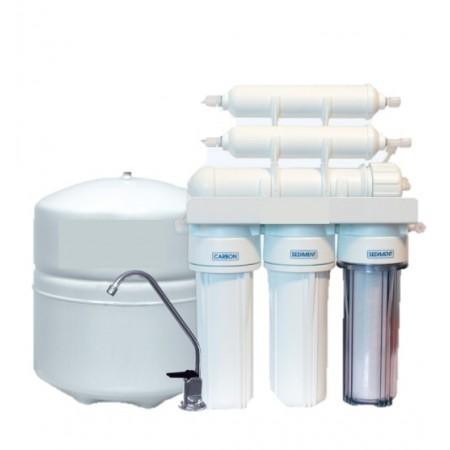 """5 – Stopniowy system oczyszczania wody metodą RO """"odwróconej osmozy"""" - MONTAŻ GRATIS!"""