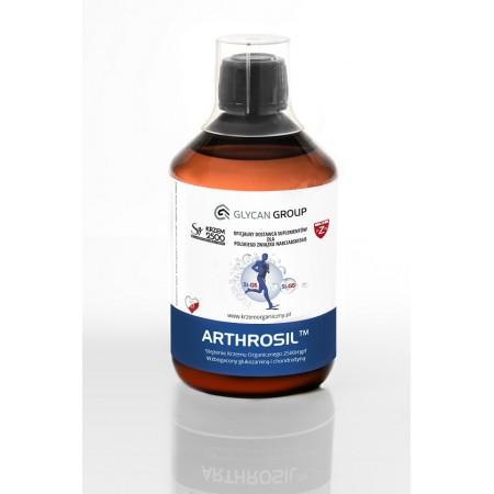 Arthrosil krzem organiczny z glukozaminą i chondroityną 0,5l