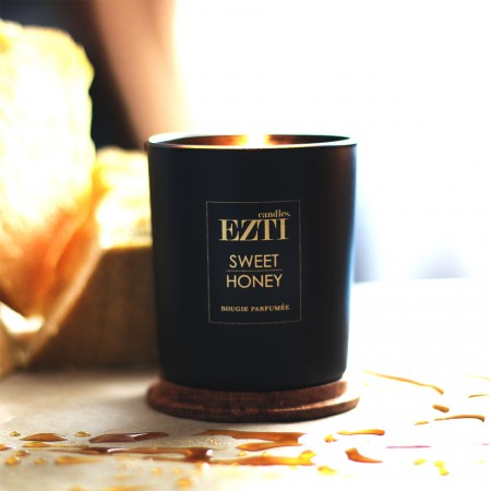 Świeca z wosku pszczelego Sweet Honey