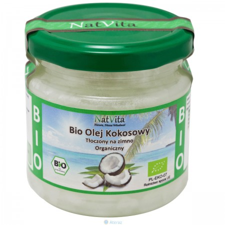Olej Kokosowy Extra Virgin 200 ml