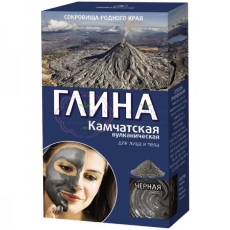 Czarna wulkaniczna glinka Kamczacka 100% naturalna 100g
