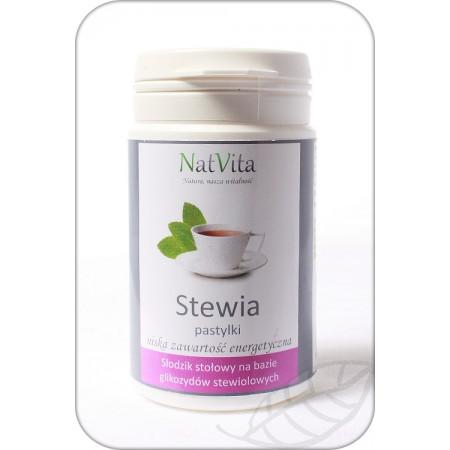 Stevia słodzik w pastylkach 1000 SZT. Natvita