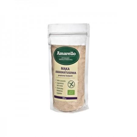 Mąka Amarantusowa Prażona Bezglutenowa Bio 300 g