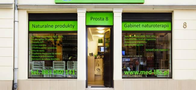 Nowa siedziba firmy - zmiana lokalizacji sklepu MED-LIFE